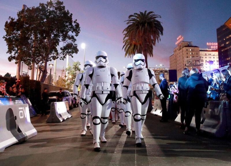 Star Wars: L'ascesa di Skywalker - la prima Disney a Hollywood