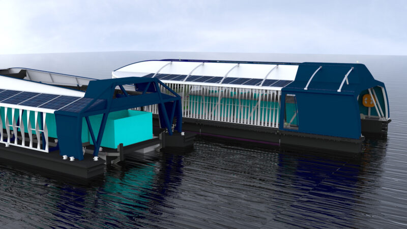 Boyan Slat Ocean Cleanup Interceptor