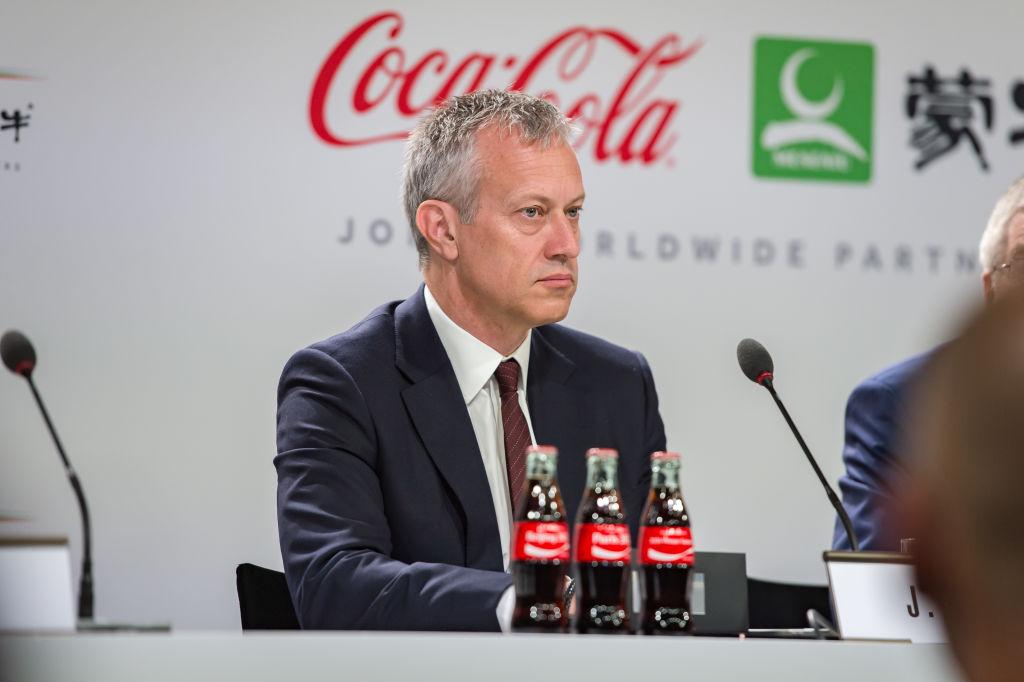 James Quincey, ceo Coca-Cola