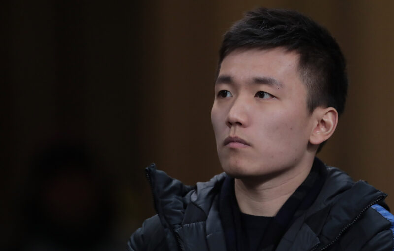 Calcio: Steven Zhang, presidente dell'Inter.