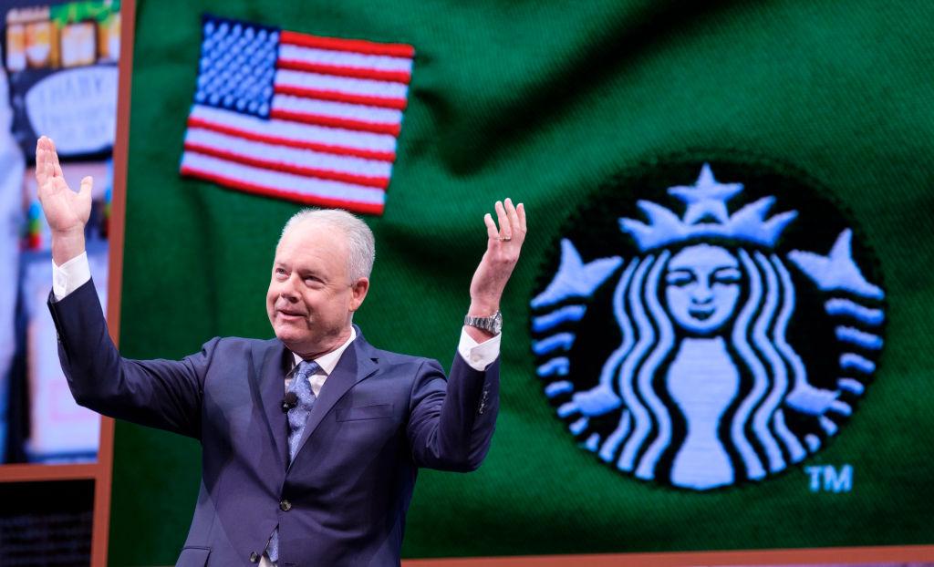 Kevin Johnson, ceo di Starbucks