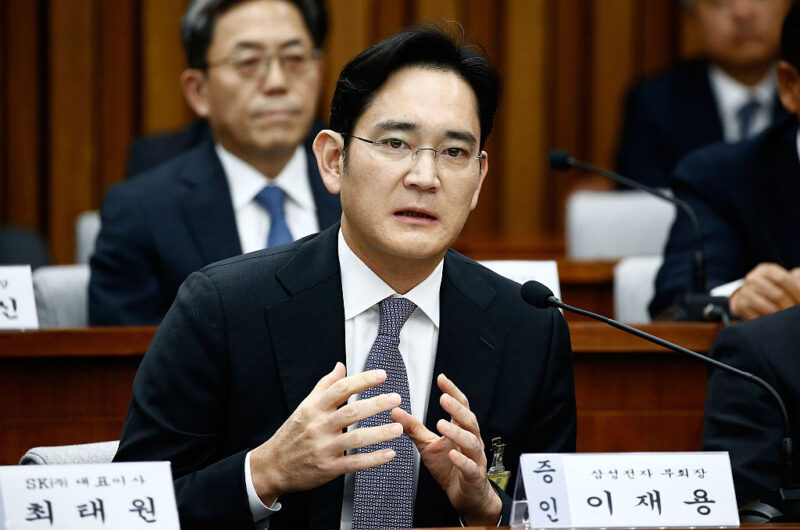 Lee Jae-yong vicepresidente Samsung