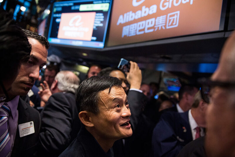 Usa-Cina: Jack Ma partecipa all'Ipo di Alibaba Group alla Borsa di New York
