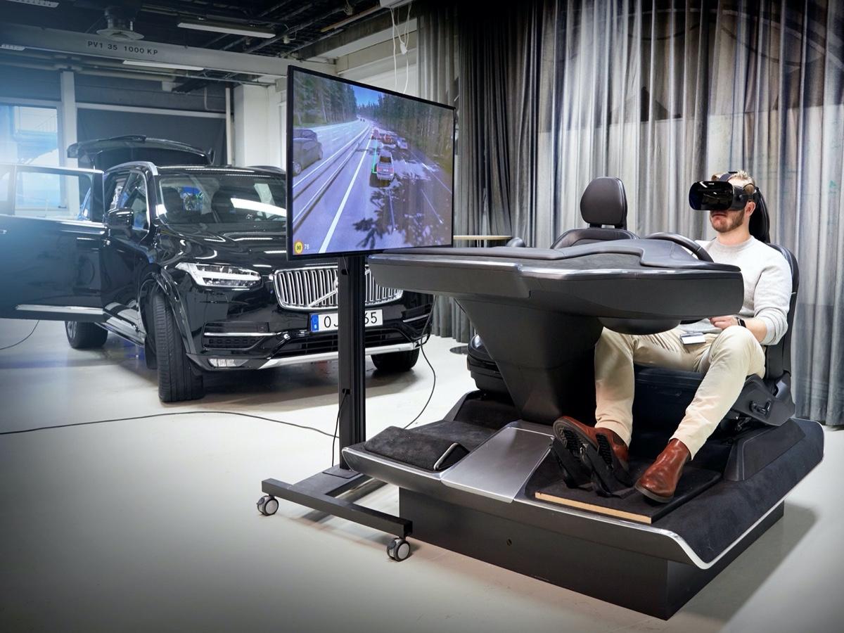 Volvo Cars laboratorio