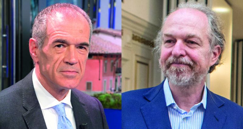 Carlo Cottarelli e Arturo Artom a confronto su come far ripartire l'Italia