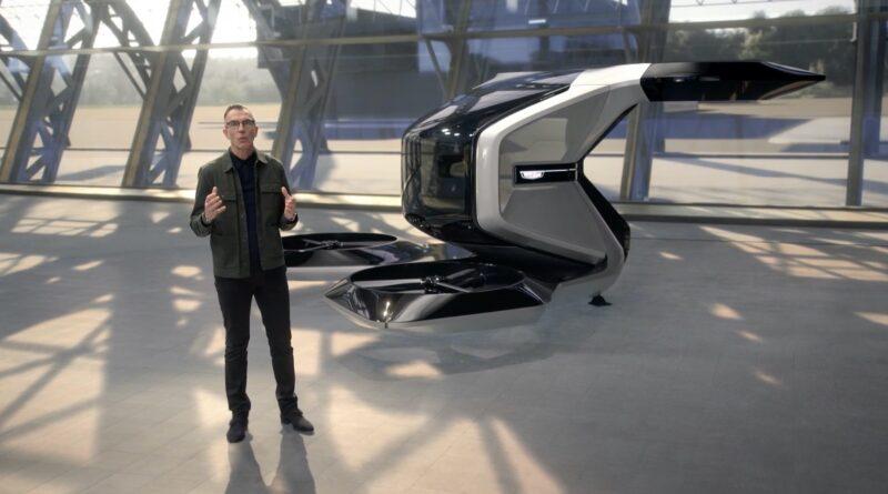 General Motors Cadillac volante presentazione