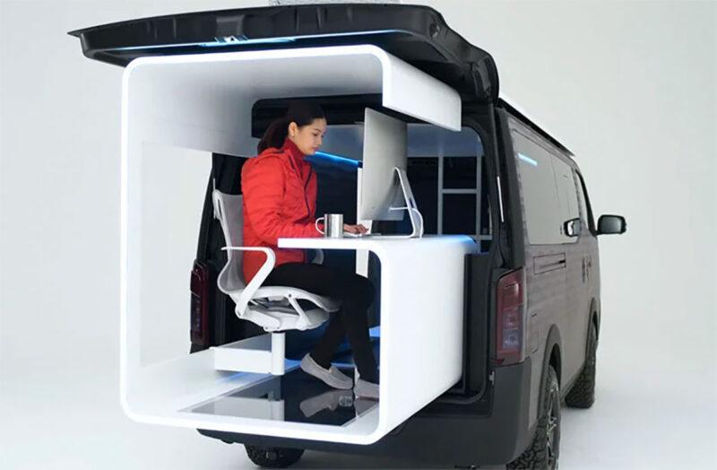 Nissan caravan office 3