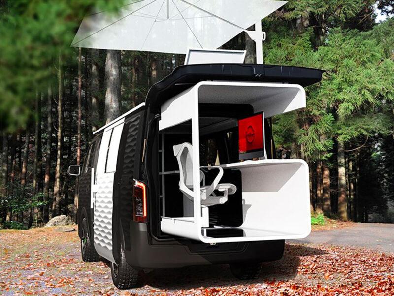 Nissan caravan office 2