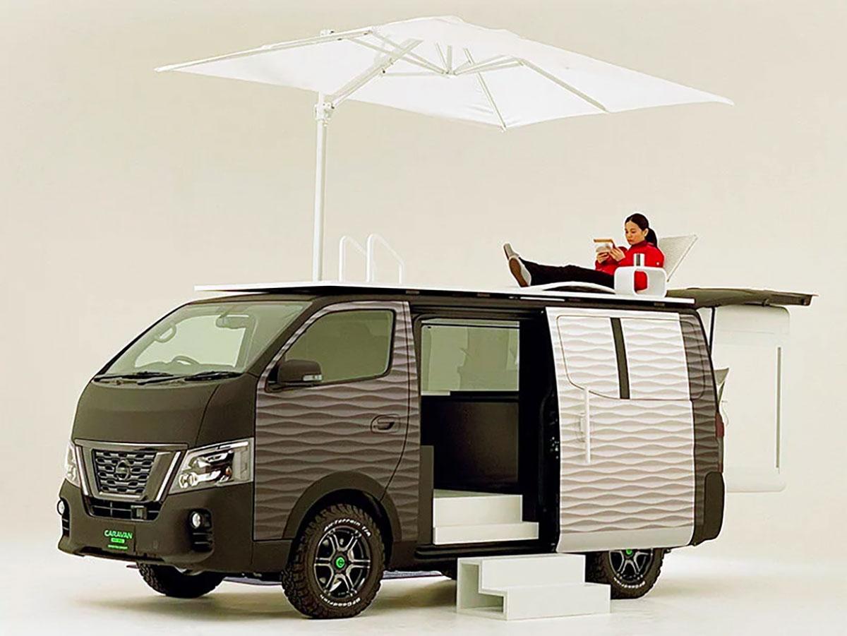Nissan caravan office