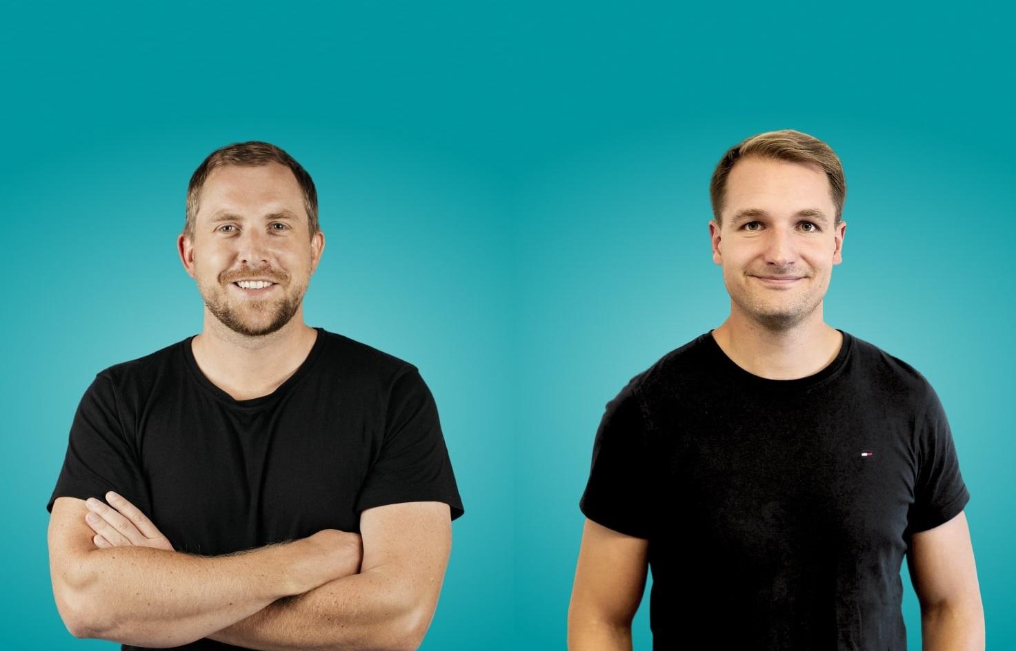 I cofondatori della startup The Org