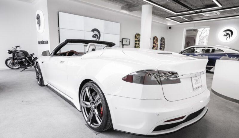 Tesla Model S cabrio Ares