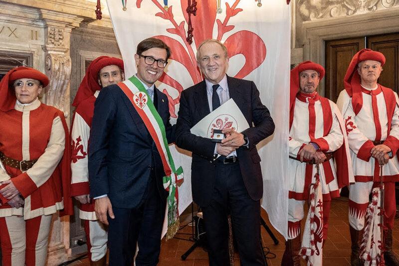 Dario Nardella e Francois-Henri Pinault Gruppo Kering