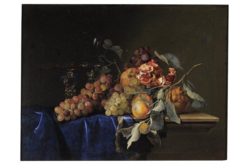 Uffizi da mangiare, 1. Willelm Van Aelst, Natura morta con frutta