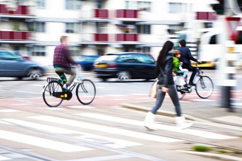Pedoni e ciclisti