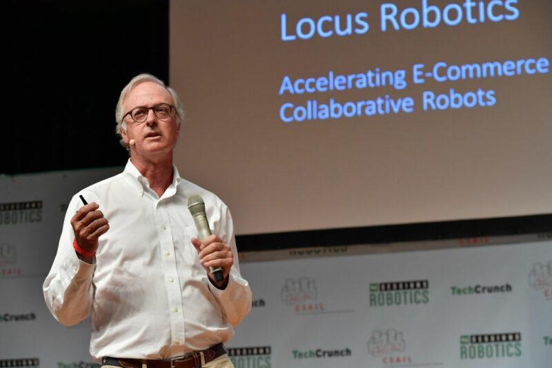 bruce welty, founder di Locus Robotics