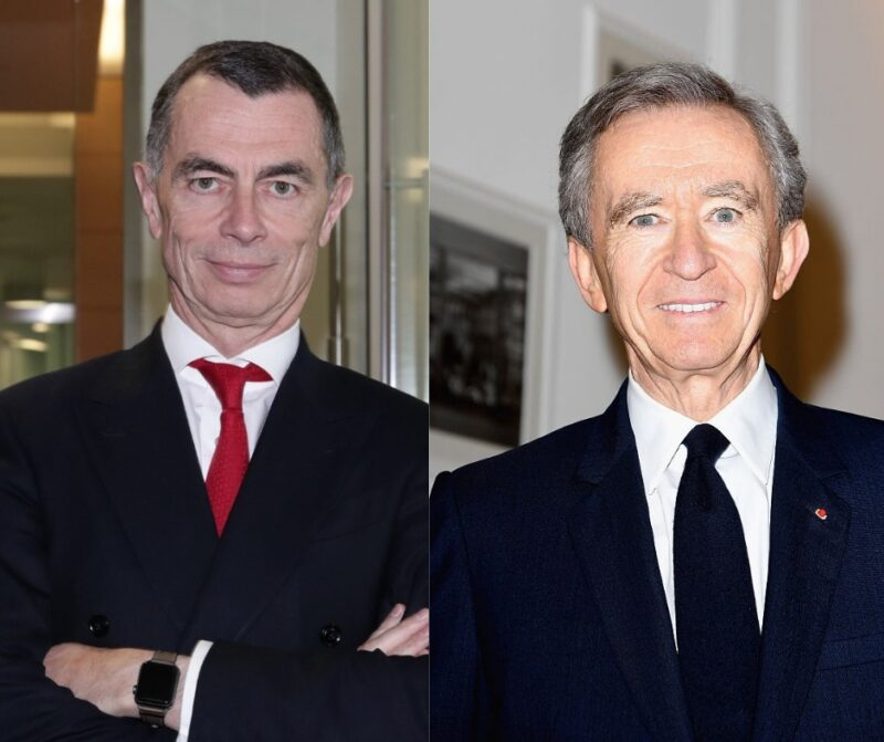 Jean Pierre Mustier e Bernard Arnault, Pegasus Europe