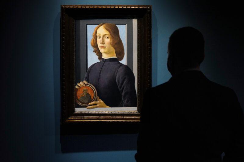 Botticelli giovane uomo