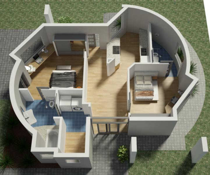casa stampata 3d sunconomy
