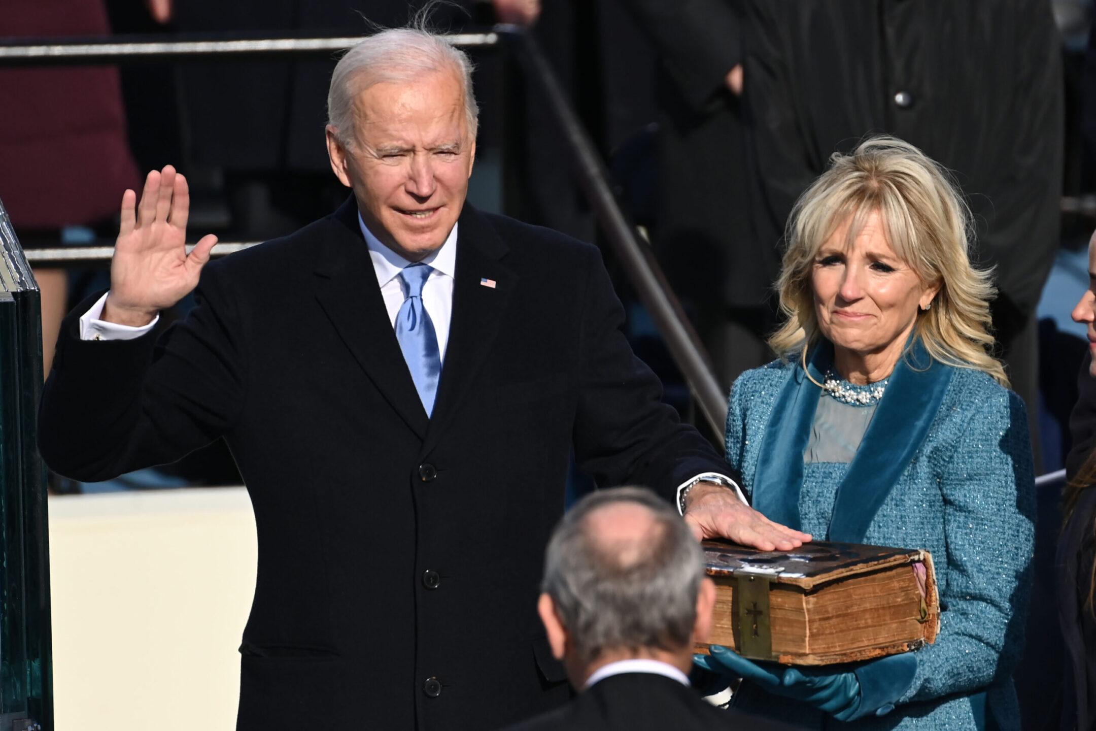 Joe Biden giuramento