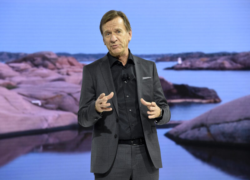 Hakan Samuelsson, Volvo - congedo parentale
