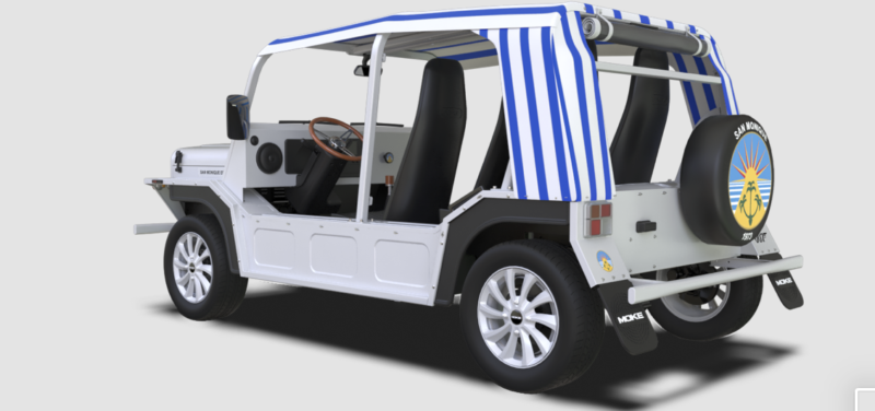 Mini Moke di 007 all'asta