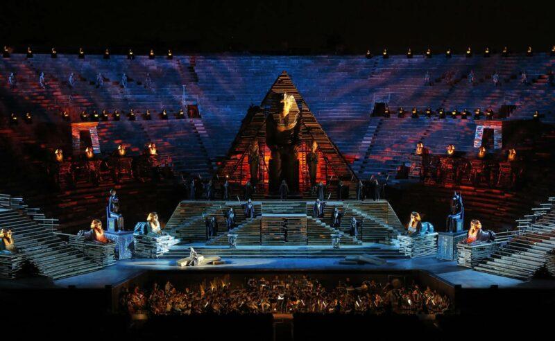Aida Arena Verona Cecilia Gasdia
