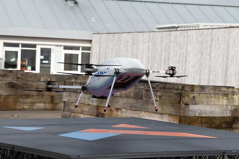 Samsung Manna drone