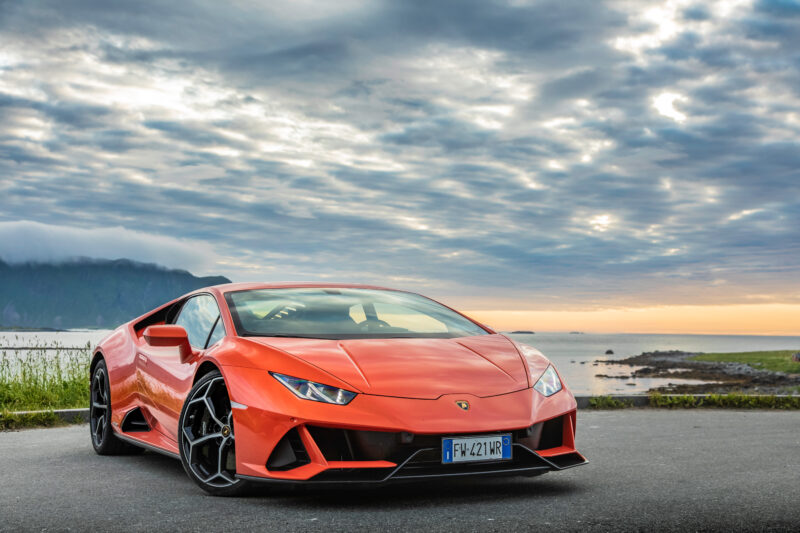 Lamborghini Uracan Evo con Alexa integrata