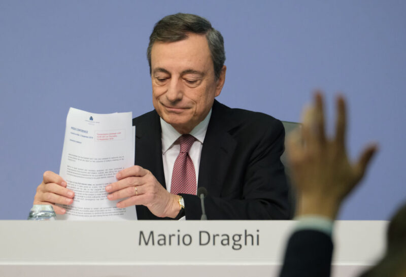 Mario Draghi, recovery plan Italia