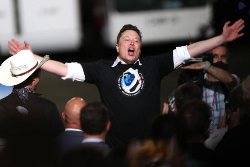 Elon Musk, trimestrale Tesla