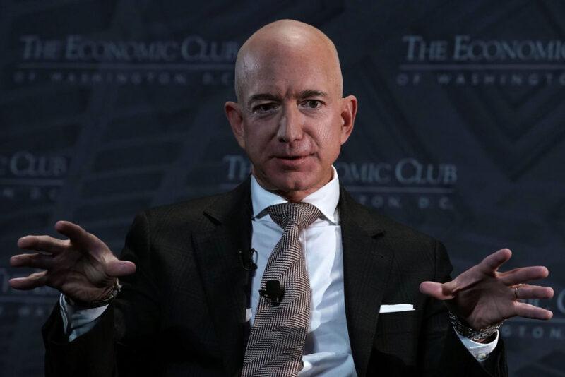 Forbes Billionaires Jeff Bezos