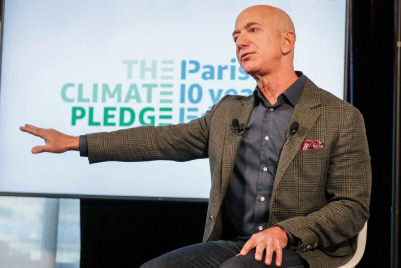 Jeff Bezos miliardari clima