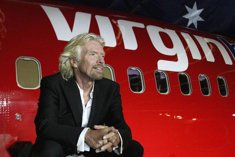 Richard Branson Virgin miliardari
