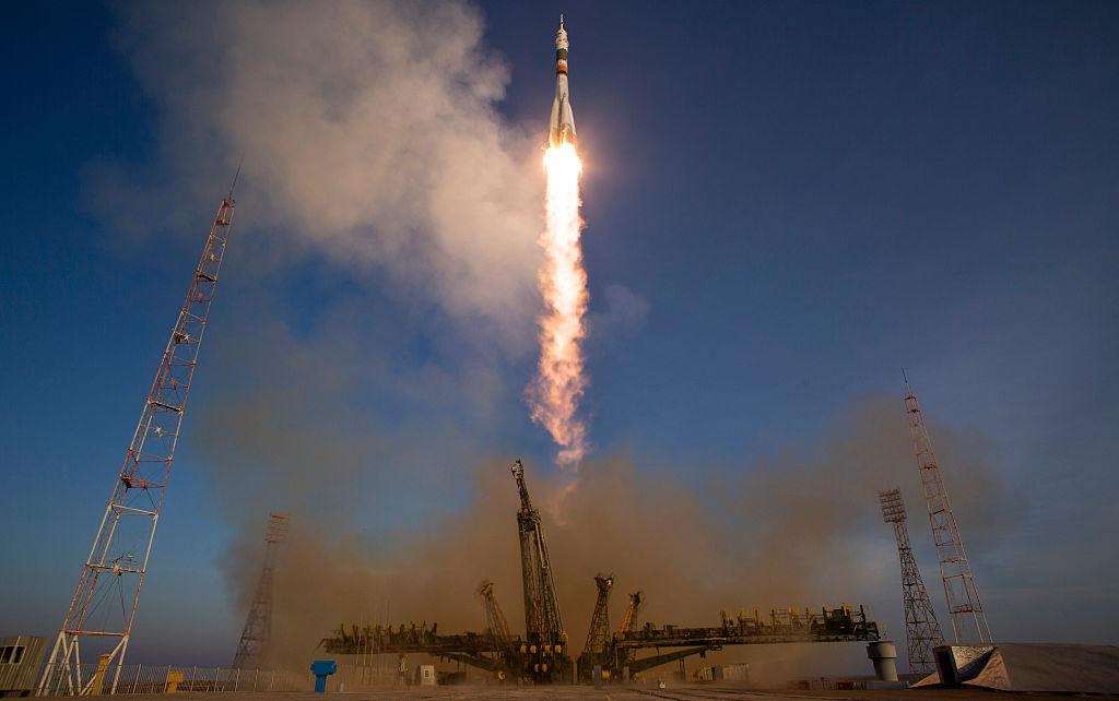 Soyuz Yusaku Maezawa spazio