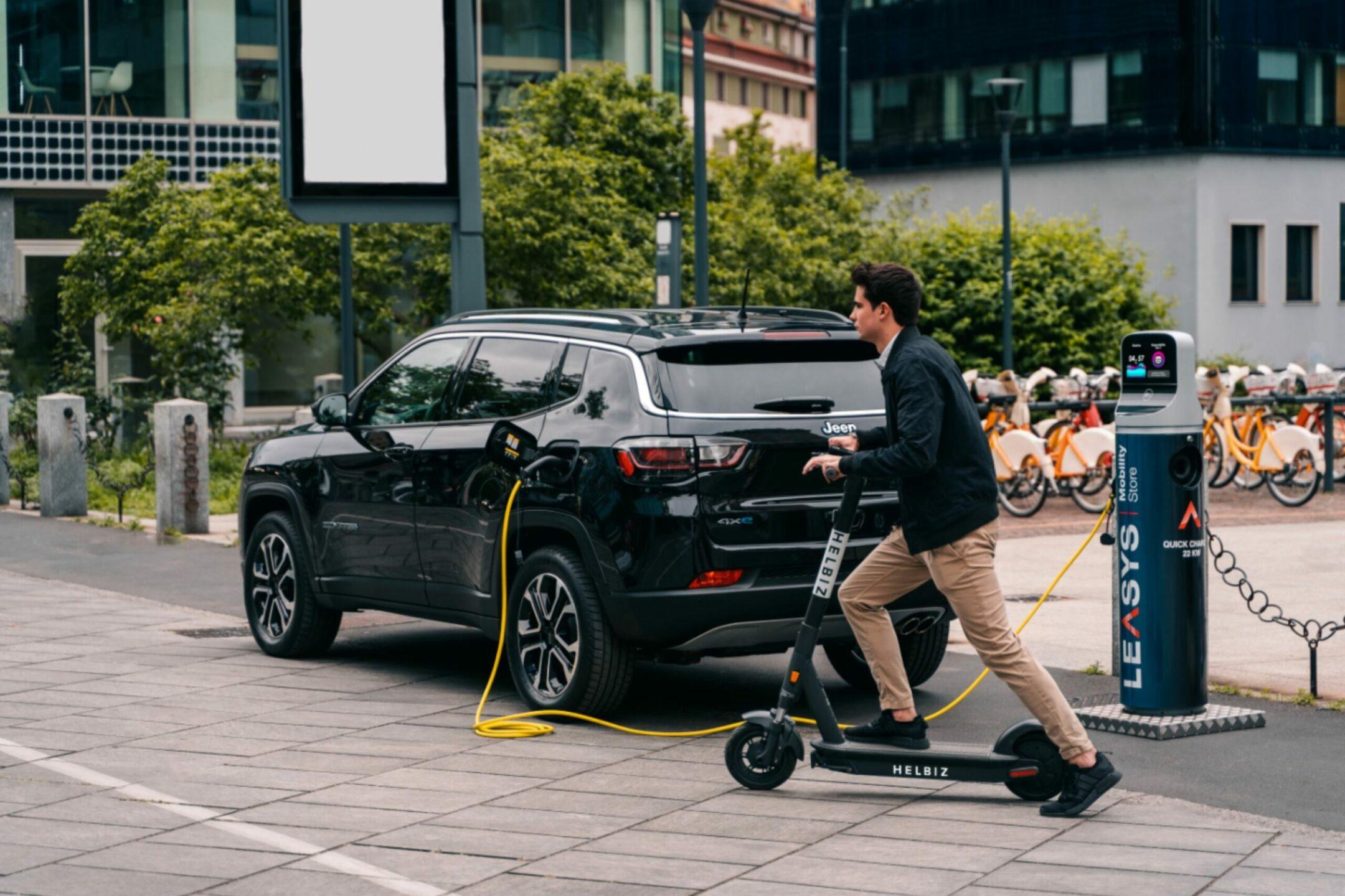 Helbiz e Leasys insieme per un pr ogetto di mobilità sostenibile