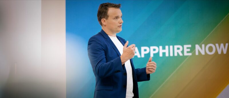 Christian Klein, ceo di SAP