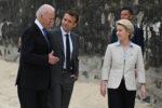 Biden Macron Von der Leyen Boeing Airbus dazi
