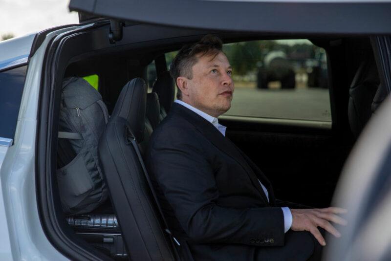 Elon Musk Tesla Panasonic