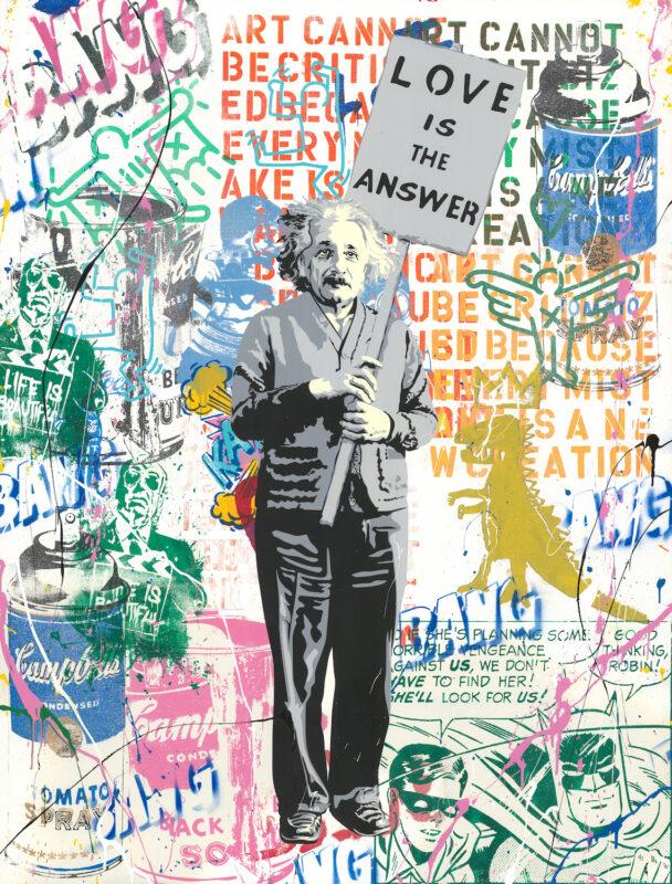 Mr. Brainwash Einstein