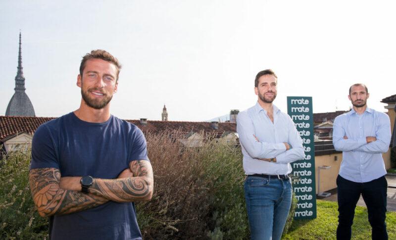 Claudio Marchisio e Giorgio Chiellini, Mate Agency