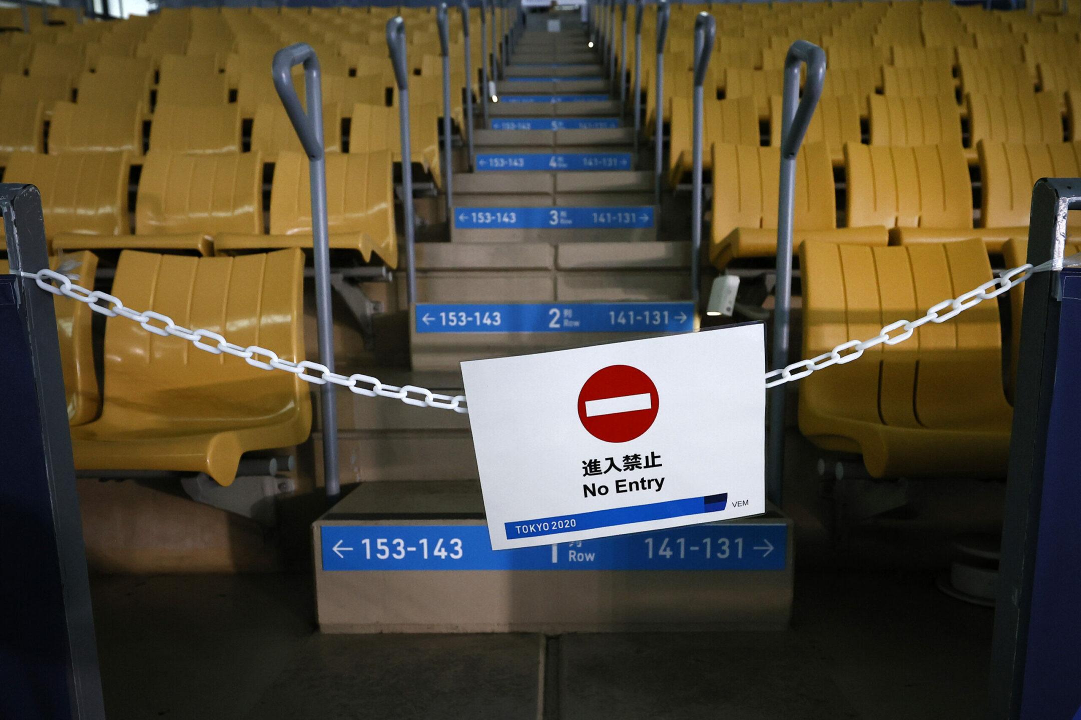 Tokyo 2020 porte chiuse