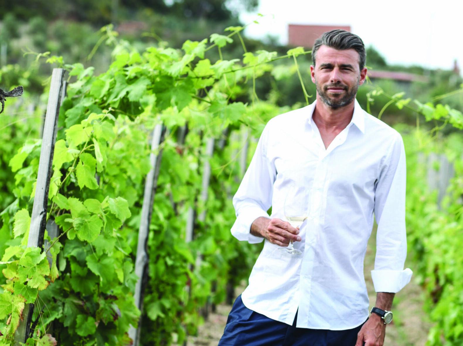 Andrea Barzagli e i vini de Le Casematte
