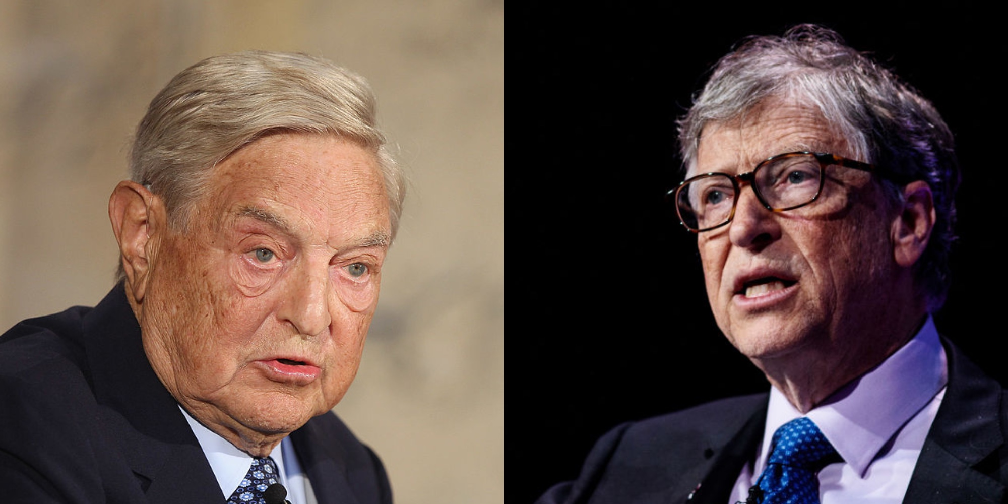 George Soros Bill Gates