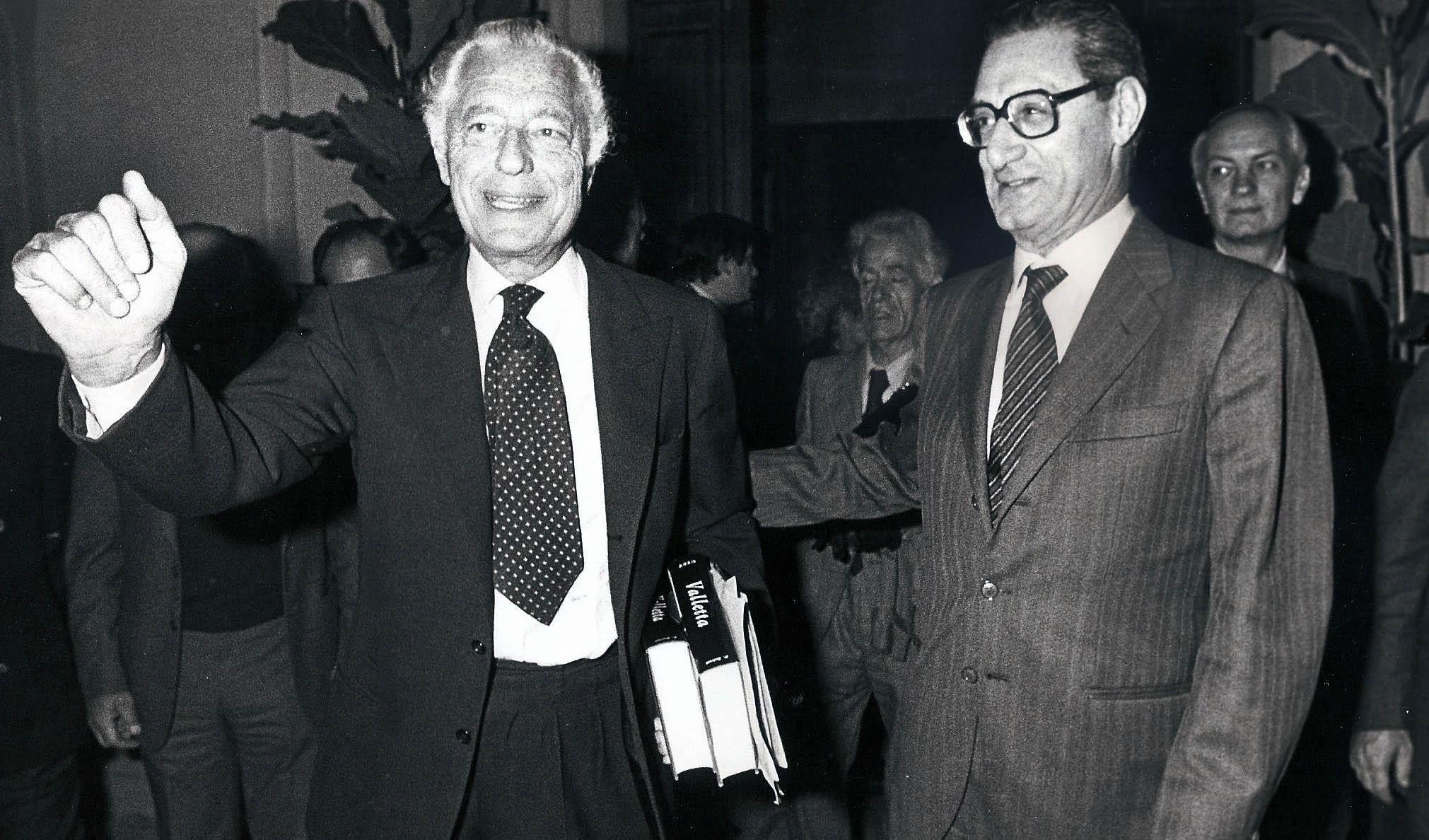 Gianni Agnelli Cesare Romiti