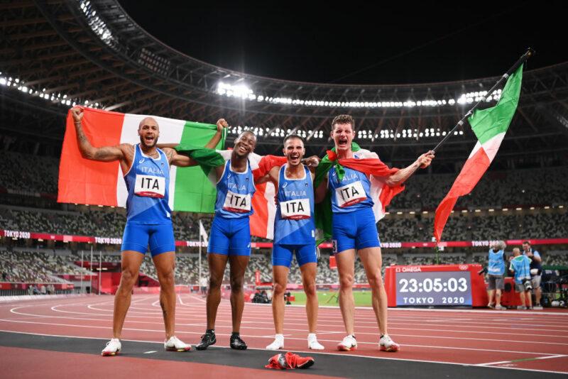 Olimpiadi 4x100
