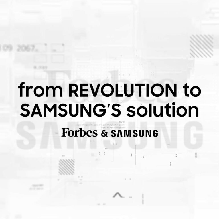 From Revolution to Samsung's Solution