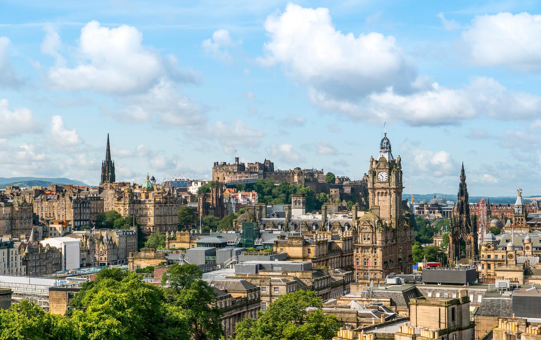 Edinburgo Scozia lavoro