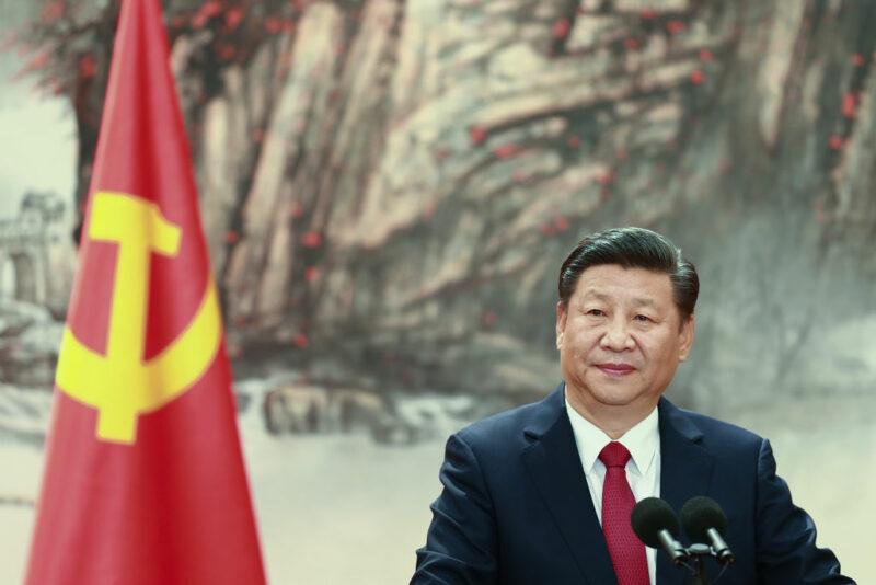 Xi Jinping Cina Evergrande