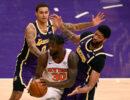 New York Knicks Los Angeles Lakers Nba